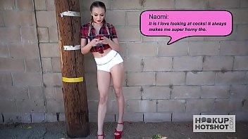 Pretty 19 yo blonde Naomi Swann nailed by Hookup Hotshot - 69VClub.Com