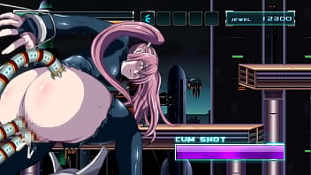 热的红头发女孩无尽与外星人男人和机器人在Noce无尽ryona行为游戏xxx做爱