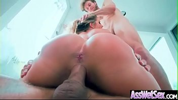 (Candice Dare) Horny Girl With Big Oiled Ass Get It Hard In Her Behind clip-13