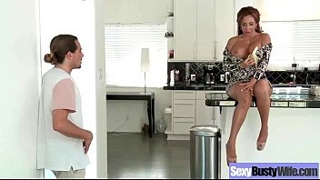 Housewife (richelle ryan) With Big Juggs Fucks On Camera clip-29