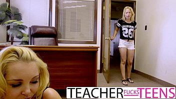 Blonde fuck hot teacher Hot threesome fuck for punished student