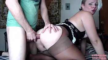Spunky sheet big boobs Hot maid gets anal swallows cum on cam