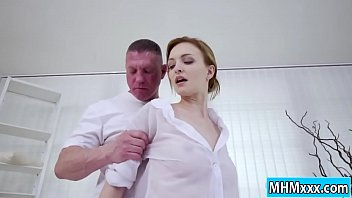 Belle Claire gets pounded by her man
