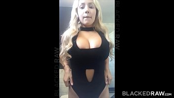 BLACKEDRAW Blonde girlfirend cheating at after party with black promoter thumbnail