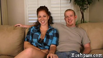 Sadie and Mitch are a real amateur couple that loves to fuck for you! thumbnail