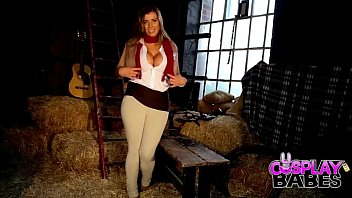 A penguing costum for adults - Cosplay babes busty mikasa cums in the barn