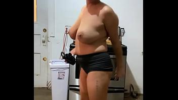 Anna maria mature latina sexy Dominican MILF in black part 4