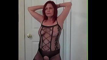 My wife sexy pose Redhot redhead show 5-8-2017 part 2