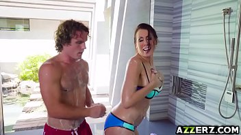 Reagan anthony shower cum porn free mpeg Horny stepmom reagan foxx hot fuck in the shower