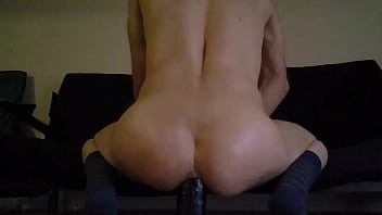 Reverse cowgirl pov anal with bbc