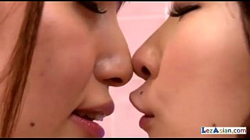 Skinny Asian Girl Getting Her Armpit Licked Tits Rubbed Kissing Licking Noses In