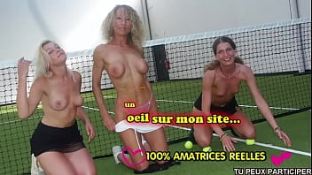 Hot Teens Try Tennis Sex With Mom