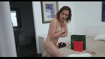 Hot mom changing room with stepson