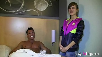 Ainara gets in bed with her idol Marco Banderas in her best fuck ever 34 min