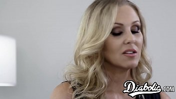 Cougar Julia Ann Stretched With Interracial Banging