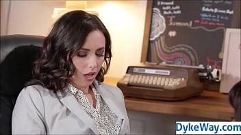 Job Interview Lesbian Fucking