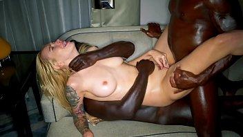 Blonda Model Abuzata Dupa Party De Negru Cu Pula Mare