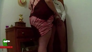 Hot fucked with the fat girl standing in the hall of the house ADR0060