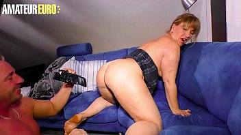 AMATEUR EURO - Sexy Wife With Biog Tits Debby Fountain Enjoy Sex On Tape