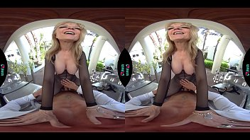 VRHUSH Naughty mature Nina Hartley begging to be fucked