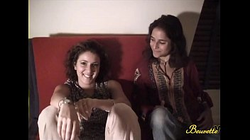Michaelle and Emilie, two little arab girls in sensual threesome 15 min