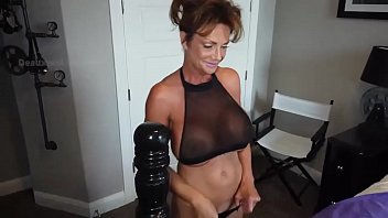 Deauxma in Black Panties and Toys