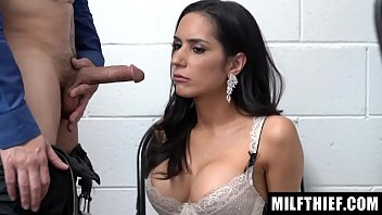 Curvy Mom Is Detained And The Stolen Edible Underwear Is Found On Her Body - Tia Cyrus