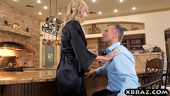 Housewife Brandi Love hires a young help to fuck her thumbnail