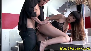 Eurobabe assfucked doggystyle pornhub video