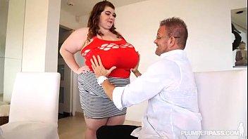 Huge Tit BBW Lexxxi Luxe Plays With Her Stepdad Tony D 5 min