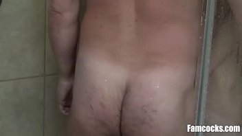 Soap & Sons Mouth- Dad Fucks Son In Shower