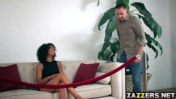 Misty Stone deep throat blowjob her fans big cock thumbnail
