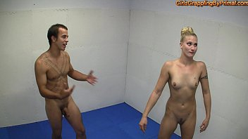 Extreme thumb wrestling - Naked domination wrestling