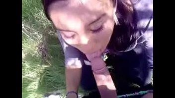 Cogiendome a ex culona en un parque