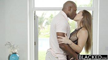 BLACKED Dani Daniels FIRST Interracial