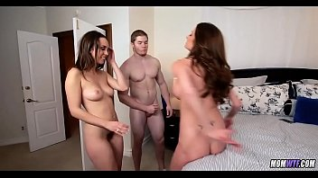 Dual Dick Lovers with MILF 5 min