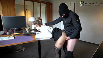 sexy secretary surprised from behind - rough office k1dnapping sex, business-bitch 7分钟