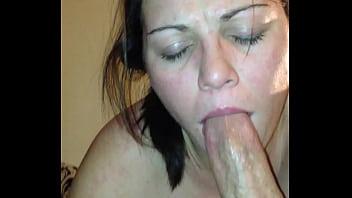Wife deepthroats huge cock porno izle