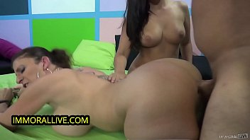 Sara Jay Trains Thick Babe W Perfect Round Tits 1st Threesome - Part 1