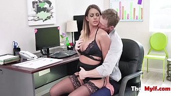 Rough Boss Fucks Horny MILF Employee- Brooklyn Chase