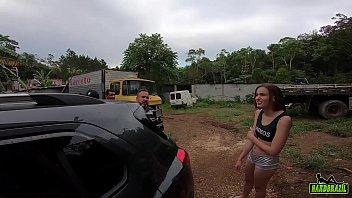Making Off Da Novinha Fodendo No Caminhão Abandonado - Luara Amaral - Gustavo Bueno - Binho Ted - Sandro Lima