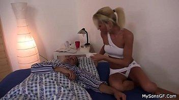 Czech Blonde girl suck Old man - CzechBlondies.com