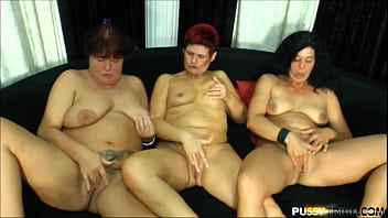 Mature German lesbian need licking their horny pussies too