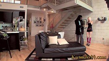 Kumalott - FAYE RUNAWAY Teenie Blonde hardcore interracial sex 44 min