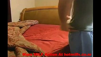 Horny MILF Sucks And Fucks Her Step Son – More MILF Action At hotmilfs.co.nr thumbnail