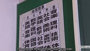 Subtitled uncensored Japanese nudist school pop quiz thumbnail