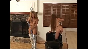 Superheroines Darby & Isabella Are Enslaved by and Evil Madman