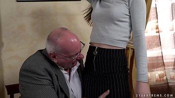 Old prof seduces y. student Anya Krey