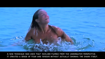 Skinny dipping girl boobs Jaws: sexy nude blonde skinny dipping girl gif