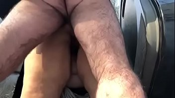 Sexy Slut Teasing Outside For Your Pleasure then Gets Fucked Hard